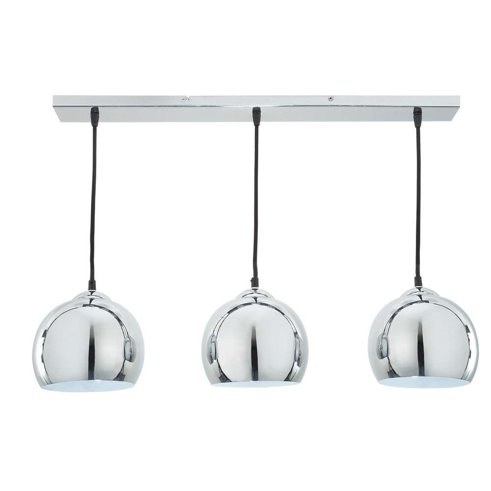 suspension triple en aluminium bross d 70 cm trio luminaires pinterest luminaires lampes. Black Bedroom Furniture Sets. Home Design Ideas