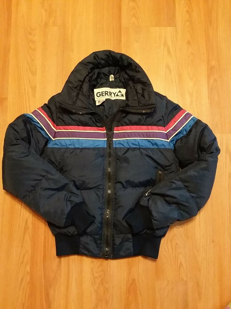 Gerry Vintage Down Filled Puffer Ski Jacket Usa Made Women S Size Small Gerry Skicoat Outdoor Ski Jacket Women Jackets Vintage Ski Jacket