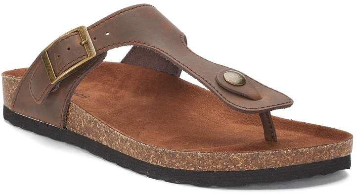 2e583dbec082 Sonoma Goods For Life SONOMA Goods for Life Blending Women s Footbed Sandals