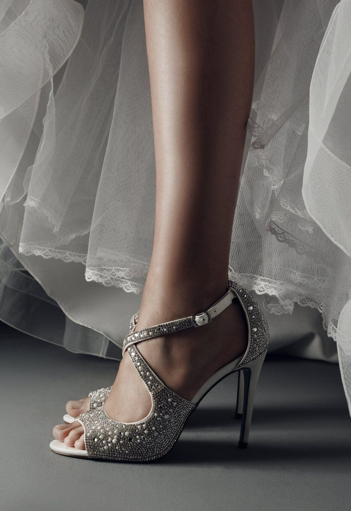 How Gorgeous Are These Blue By Betsey Johnson Wedding Shoes The