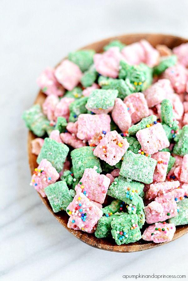 """Pink and Green Candy Melts - Muppets """"Muddy Buddies"""""""