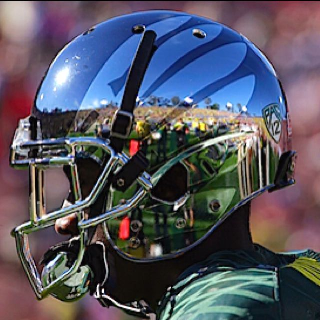 0e01733f1 Oregon chrome helmets rose bowl 2012
