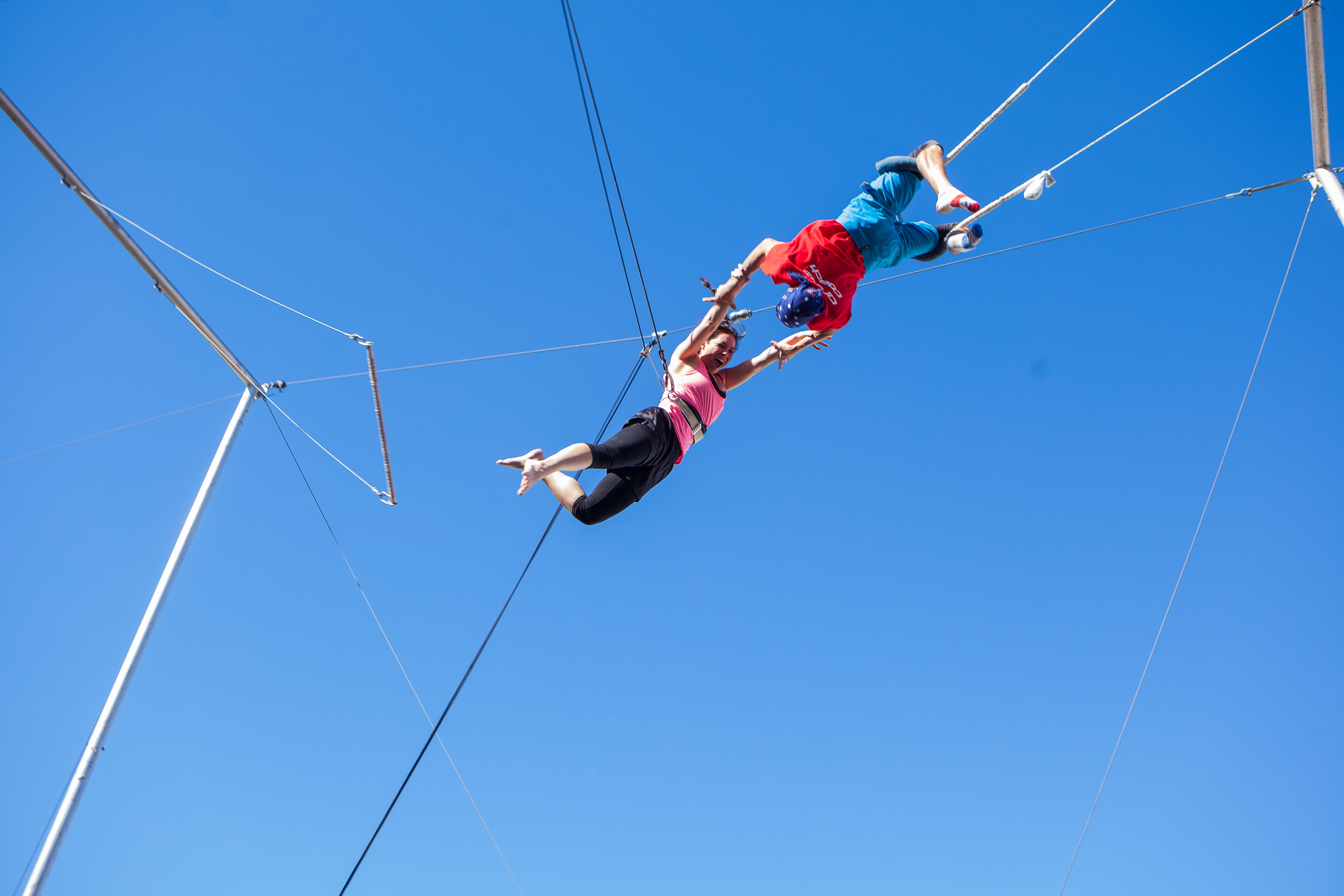 Circus arts australia high flying trapeze circus art