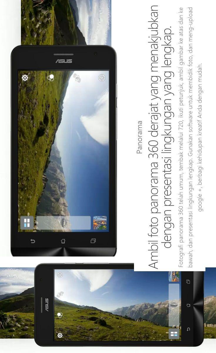 Asus Zenfone Smartphone Android Terbaik Ambil Foto Panorama 360