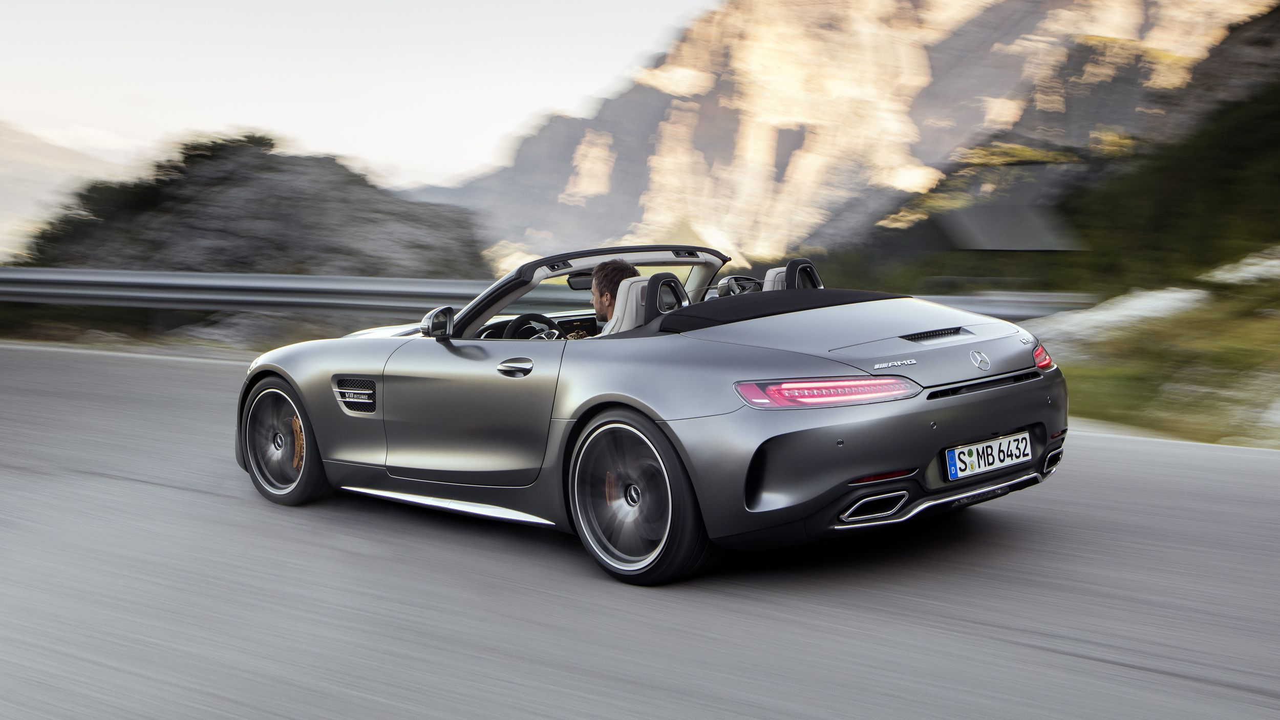 The 2018 Mercedes AMG GT roadster should start at around $120 000
