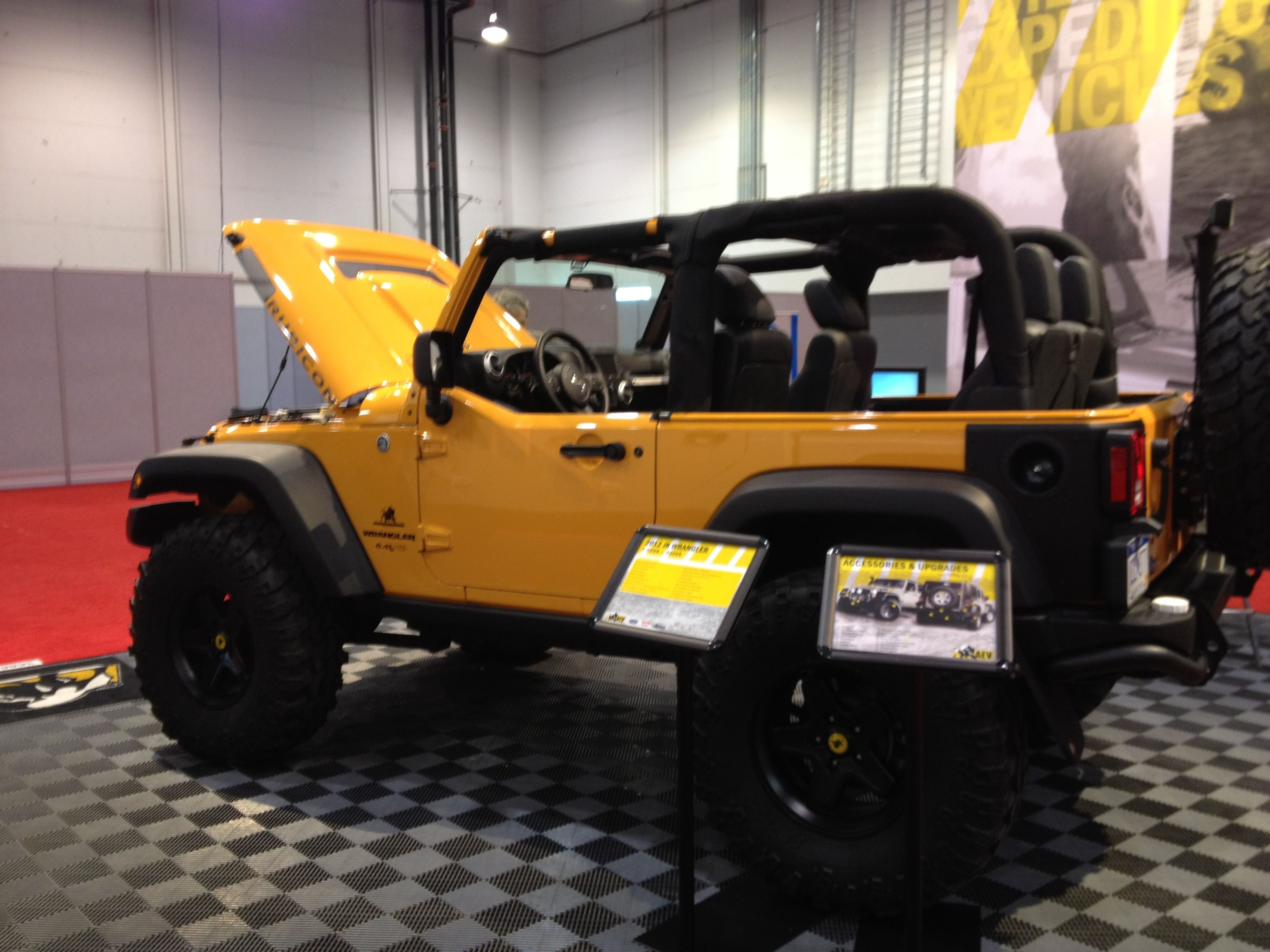 Cool Jeep modification at NADA in Las Vegas. | My Style | Pinterest