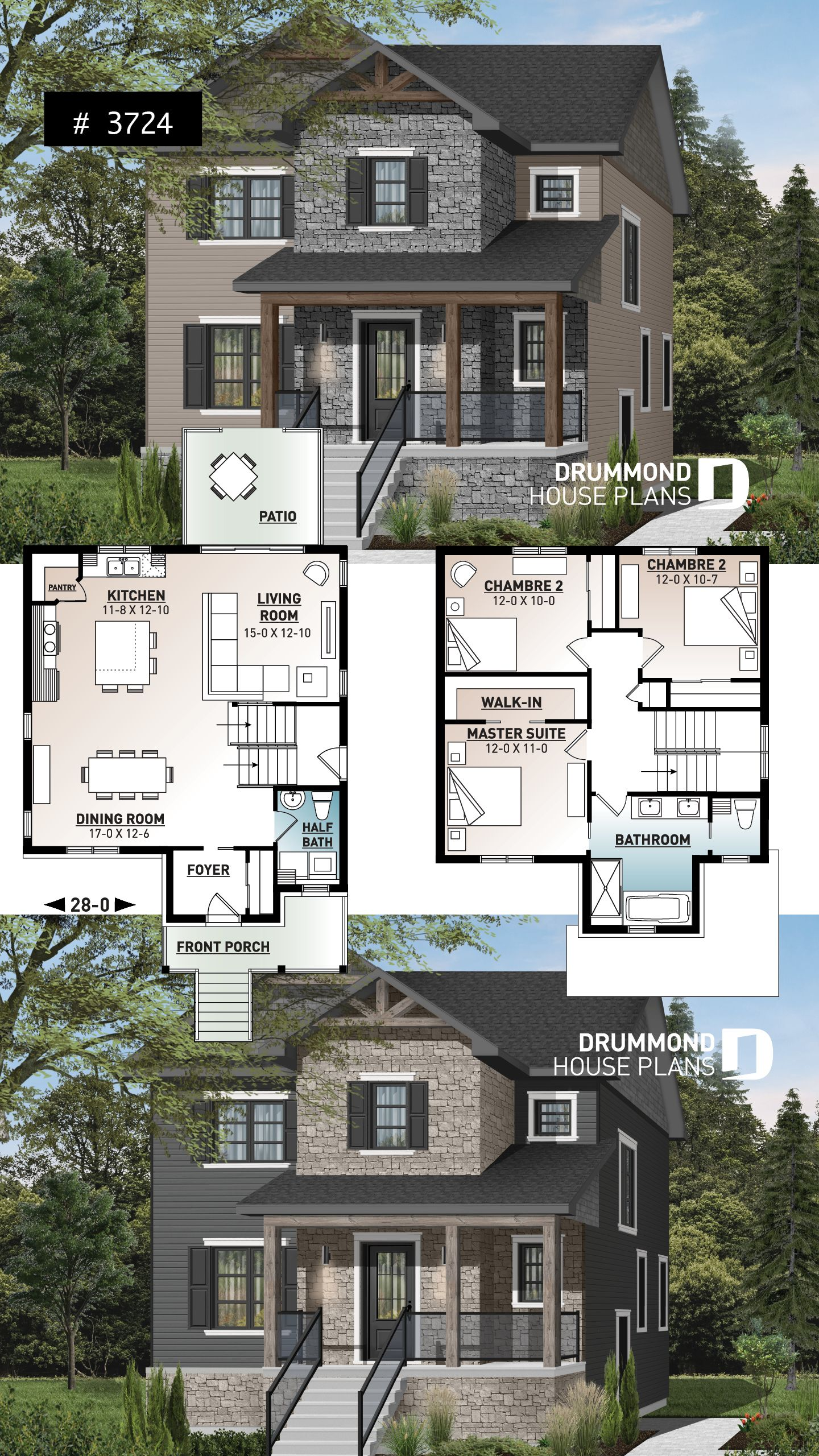 This transitional style house plan  fashionable to express that it borrows traits with also pin by drummond plans on small  affordable home rh pinterest