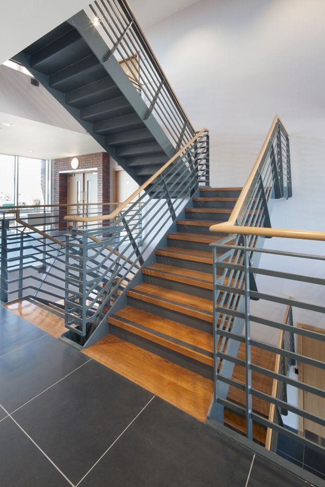Best Ardrossan Quay Staircase Design Corporate Office Design 400 x 300