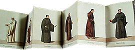 Leporello -  Leporello album of Monastic Orders