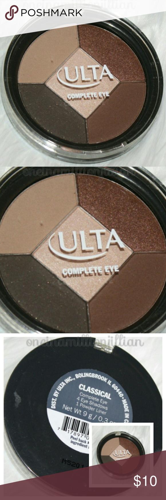 Ulta Complete Eye Shadow & Liner Palette New/Sealed Full