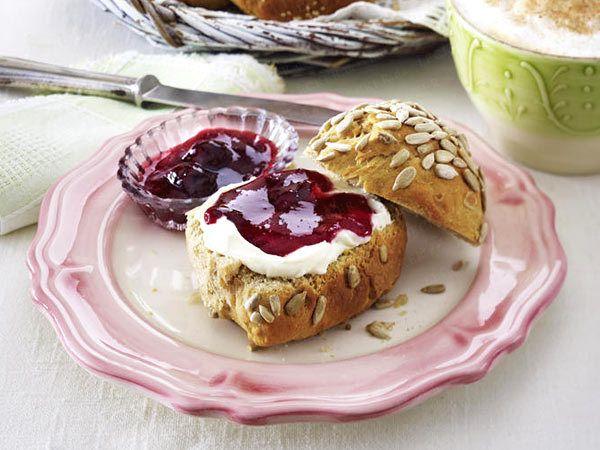 Frühstücksideen: Joghurt-Brötchen aus der Springform