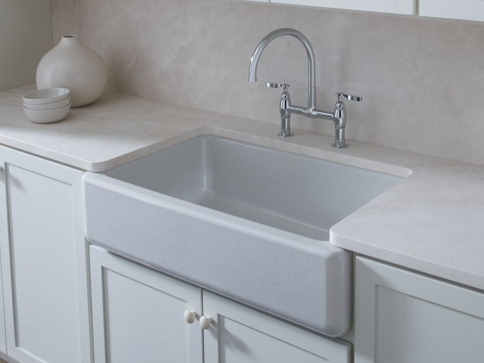 Image result for kohler whitehaven tall apron sink (With