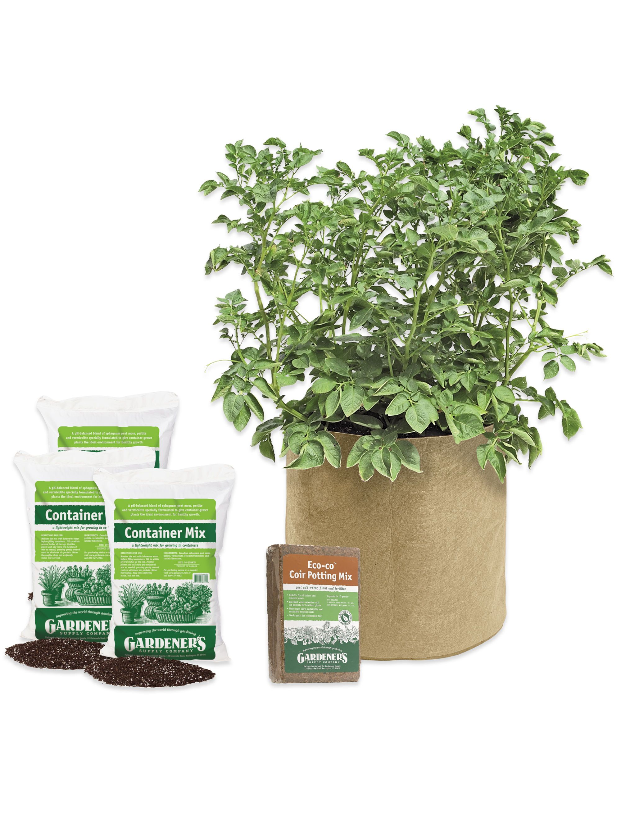 Potato Success Kit Grow Bag and Supplies for Growing