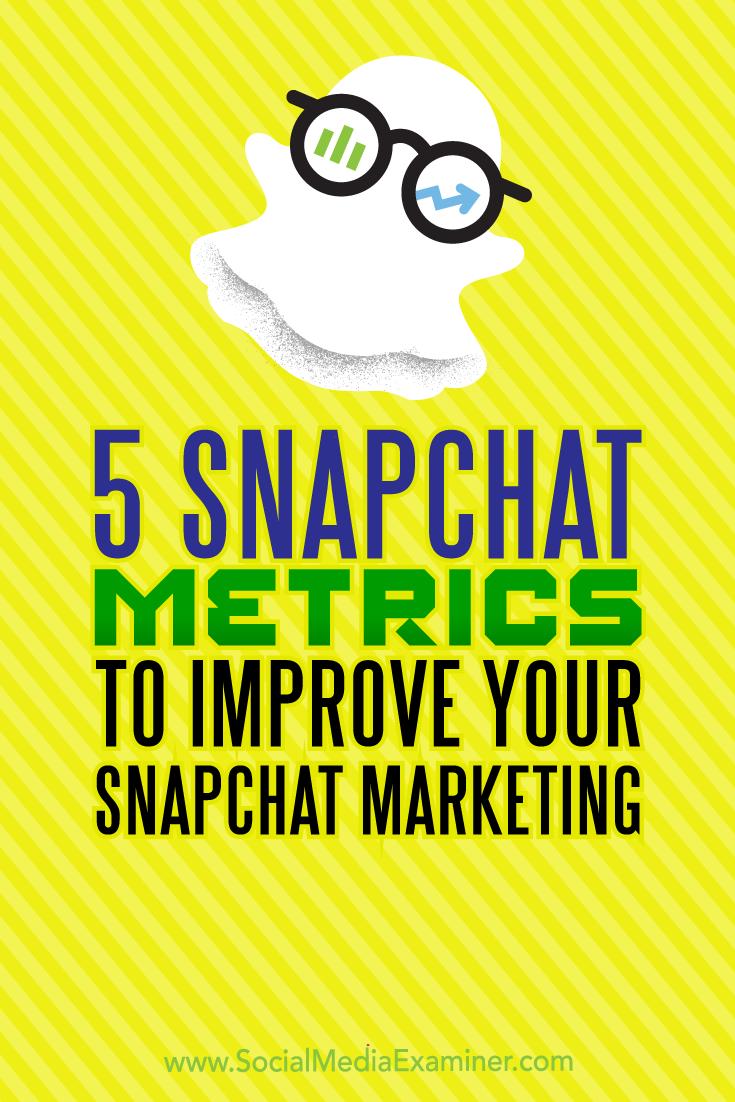 5 ways to improve your instagram marketing social media examiner 5 Snapchat Metrics To Improve Your Snapchat Marketing Snapchat Marketing Blog Marketing Marketing