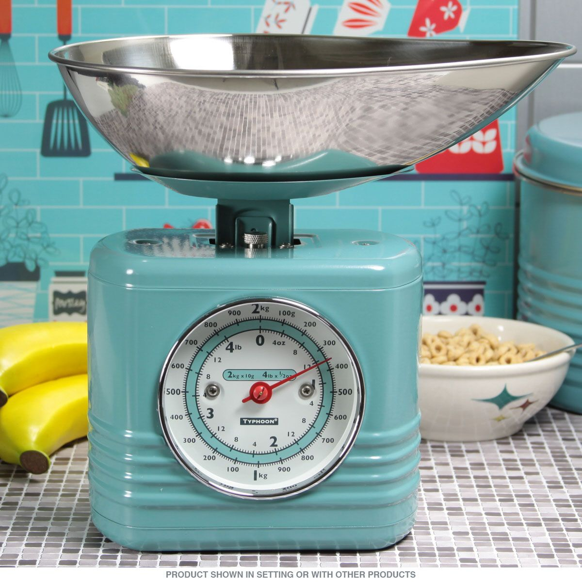 This Retro Kitchen Scale is the perfect accessory for your vintage ...