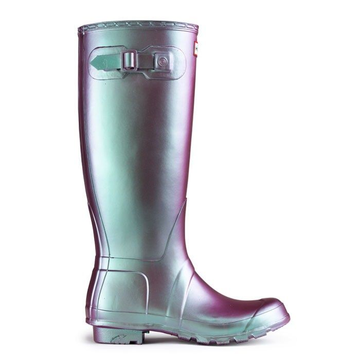 Hunter Pearlescent Wellies......awesome!! | Iridescent/Duochrome ...