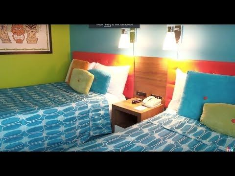 Cabana Bay Beachside Tower Two Bedroom Suite Tour At Universal