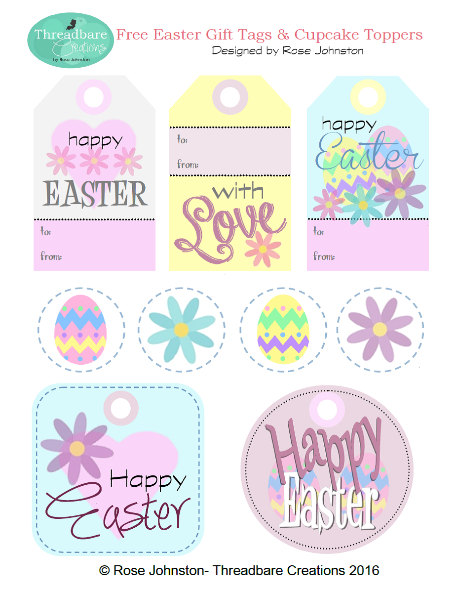 Threadbare creations free easter gift tags and cupcake toppers threadbare creations free easter gift tags and cupcake toppers negle Choice Image