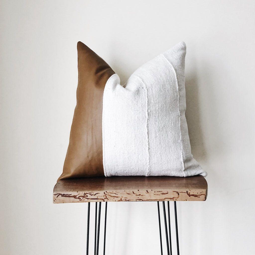 modern rustic farmhouse throw pillows