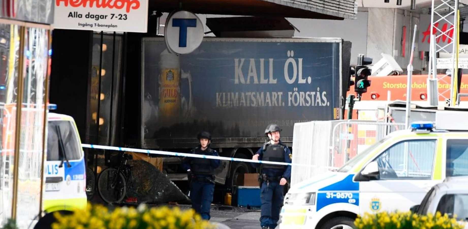 BREAKING Terror Truck Attack In Stockholm, Sweden? (With