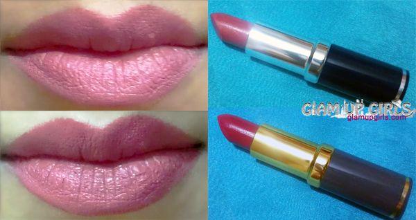 Medora Matte Semi Matte And Glitter Lipstick Review And