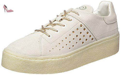 J7630pr6n6, Sneakers Hautes Femme, Gris (Grau), 37 EUBugatti