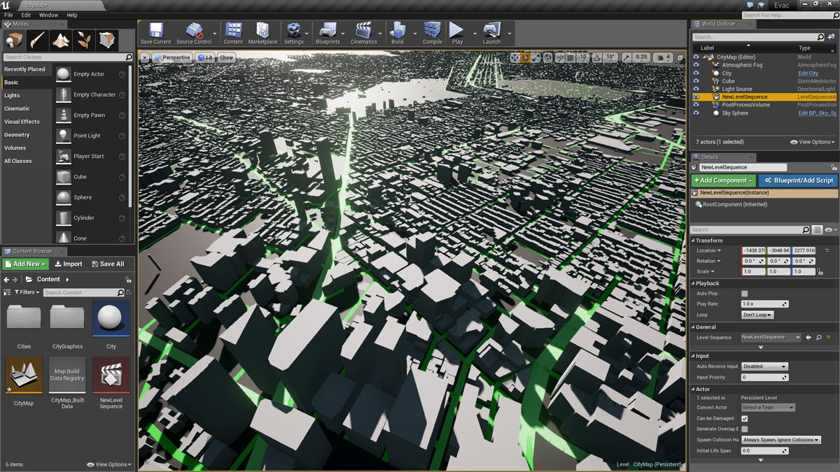 Just released an OpenStreetMap plugin for UE4! Totally free