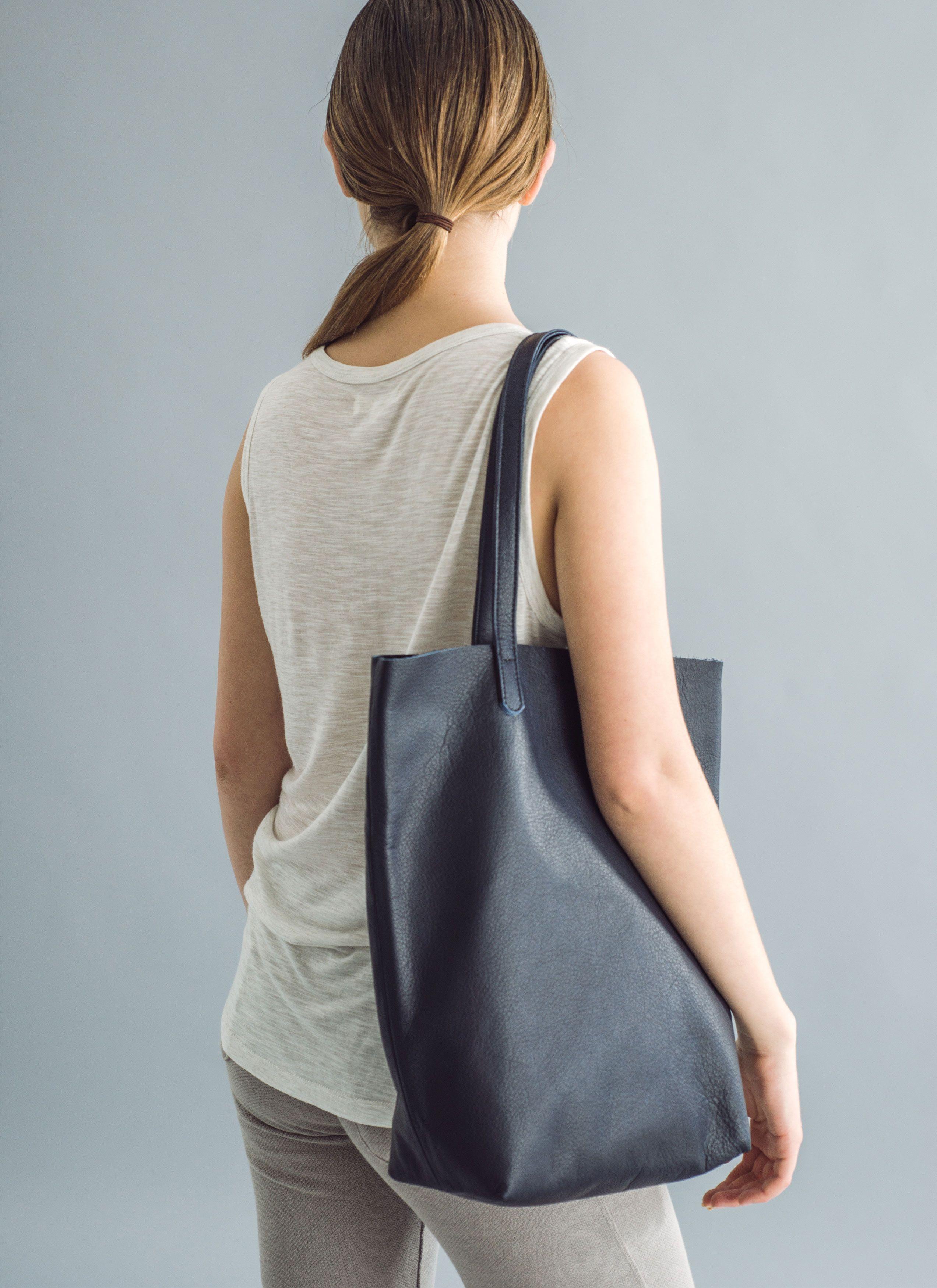 Baggu BASIC TOTE, LEATHER | Taschen und Transporter