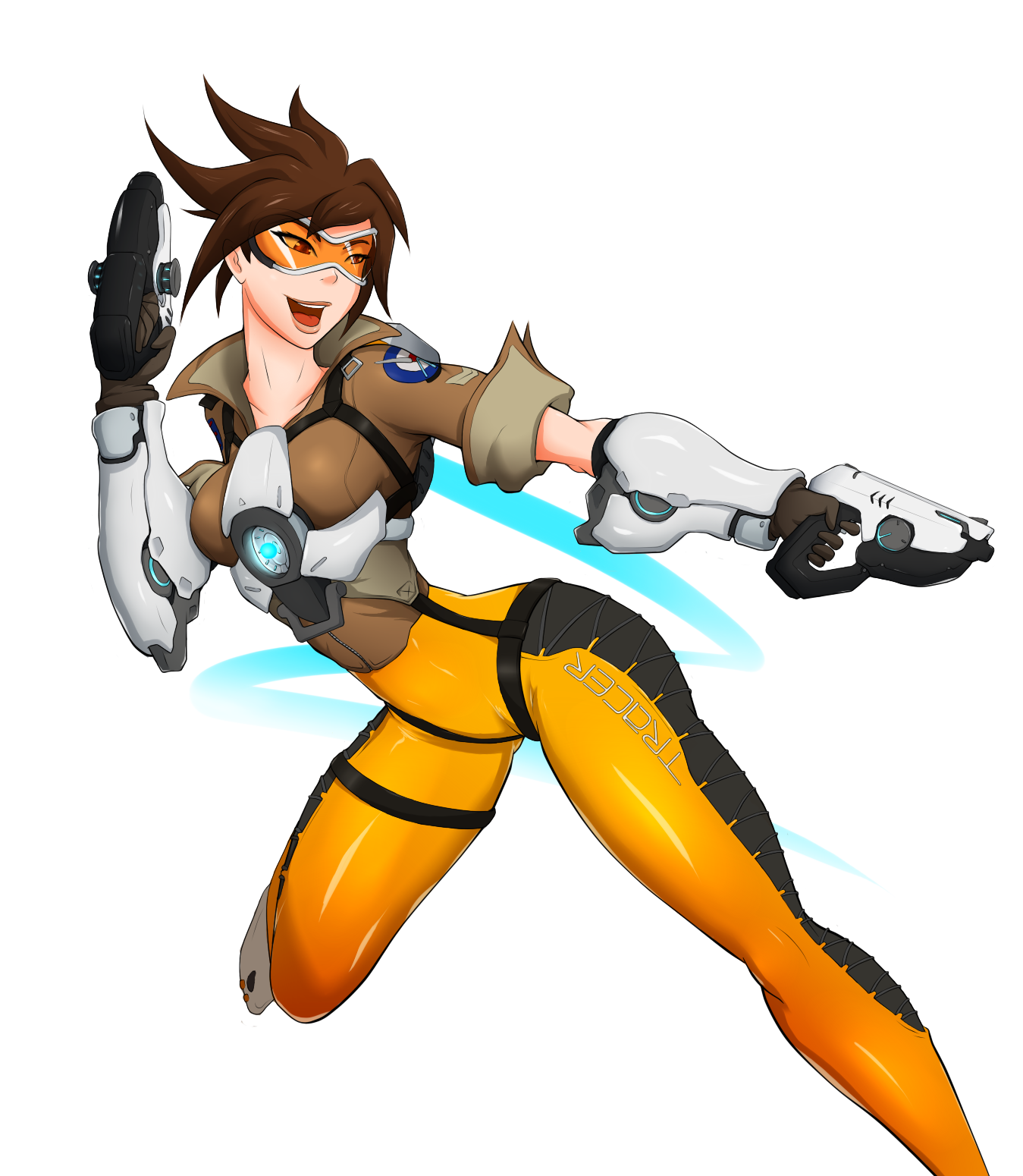 Cropped Background Tracer Cropped Background Overwatch Drawings Overwatch Wallpapers Overwatch Tracer