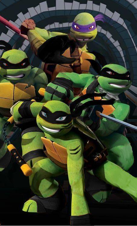 Tmnt Fan Art Dark Turtles Nickelodeon Style By Krazypup1492deviantart