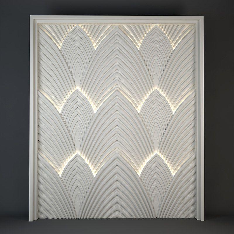 art deco panels | Панель | Pinterest | Art deco, Walls and Wall ...