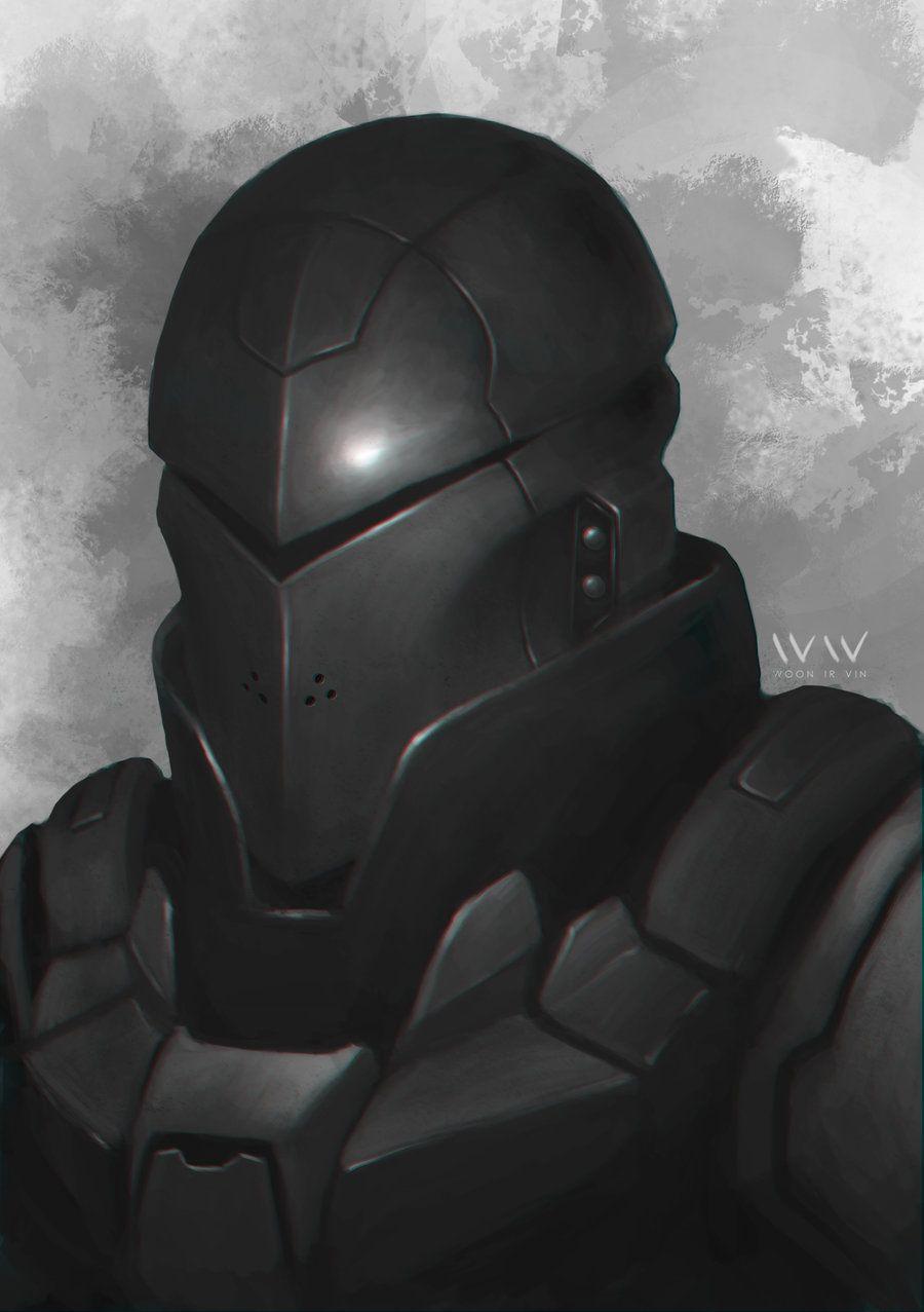 Future Knight Bust By Leonwoon Deviantart Com On Deviantart