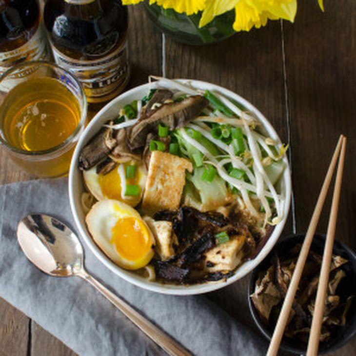 Vegetarian Homemade Ramen Bowls Recipe Soups, Main Dishes ...