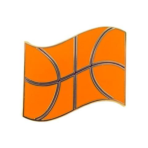 Basketball Flag Pin by Eivind Molvær Valley Cruise Press ...
