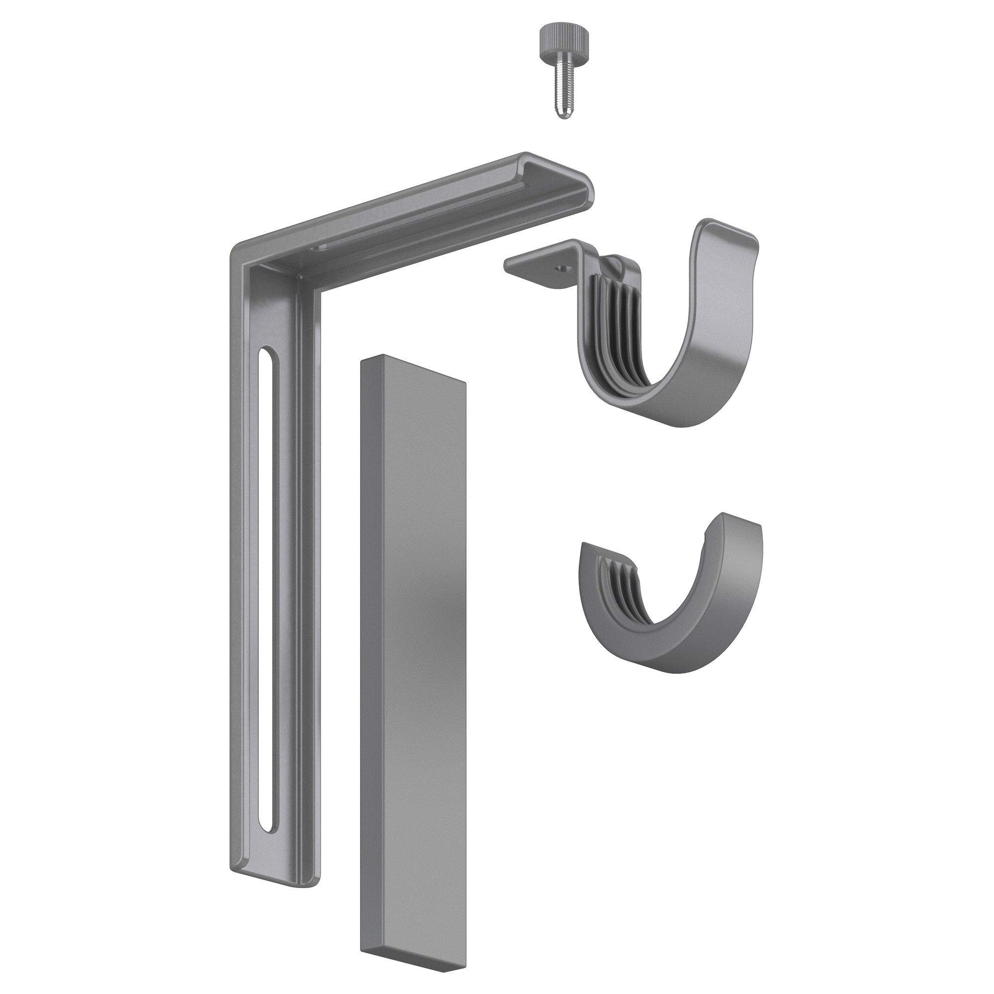 Betydlig Wall Ceiling Bracket Silver Color 2nd Floor