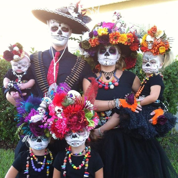Day of The Dead - best #Halloween costumes! - Family halloween costumes, Halloween, Diy ...