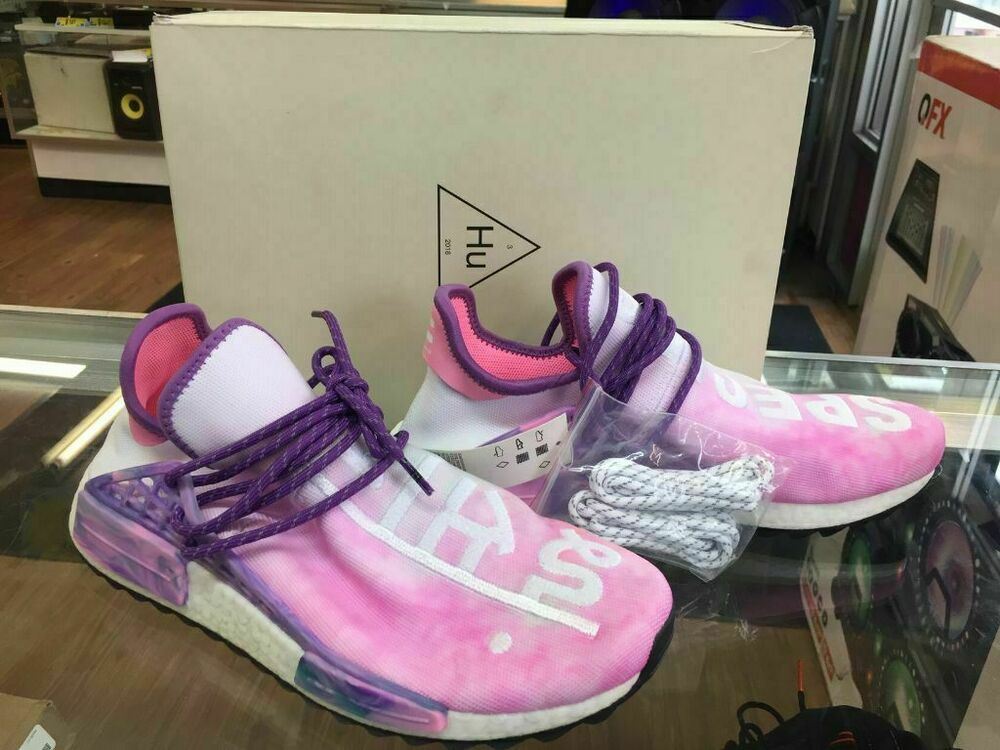 Pharrell Williams Adidas Human Race NMD Holi Festival Pink