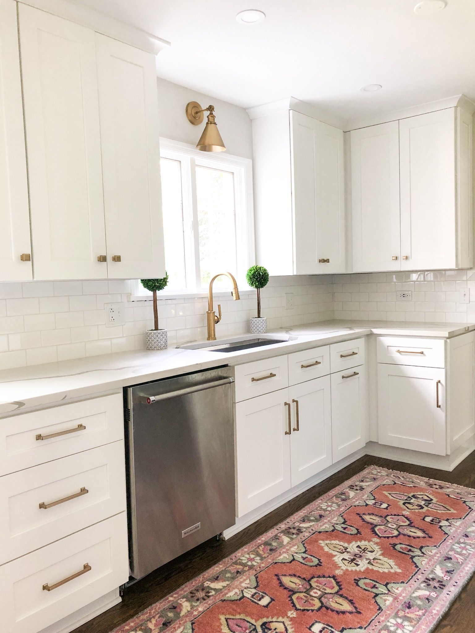 Classic White Kitchen: The Home Restyle # ...