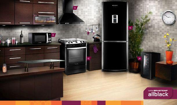 Eletrodomésticos pretos