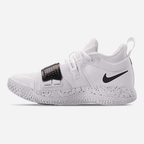 best service 6aa83 05798 Left view of Men s Nike PG 2.5 TB Basketball Shoes in White Black