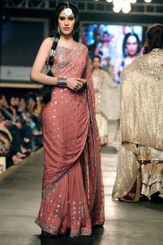 lajwanti collection at bridal couture week 2010 | saris, saree and desi