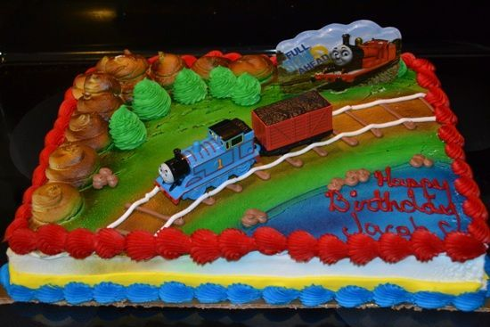 Thomas The Train Birthday Cake Decorating Ideas & Thomas The Train Birthday Cake Decorating Ideas | Celebrations ...