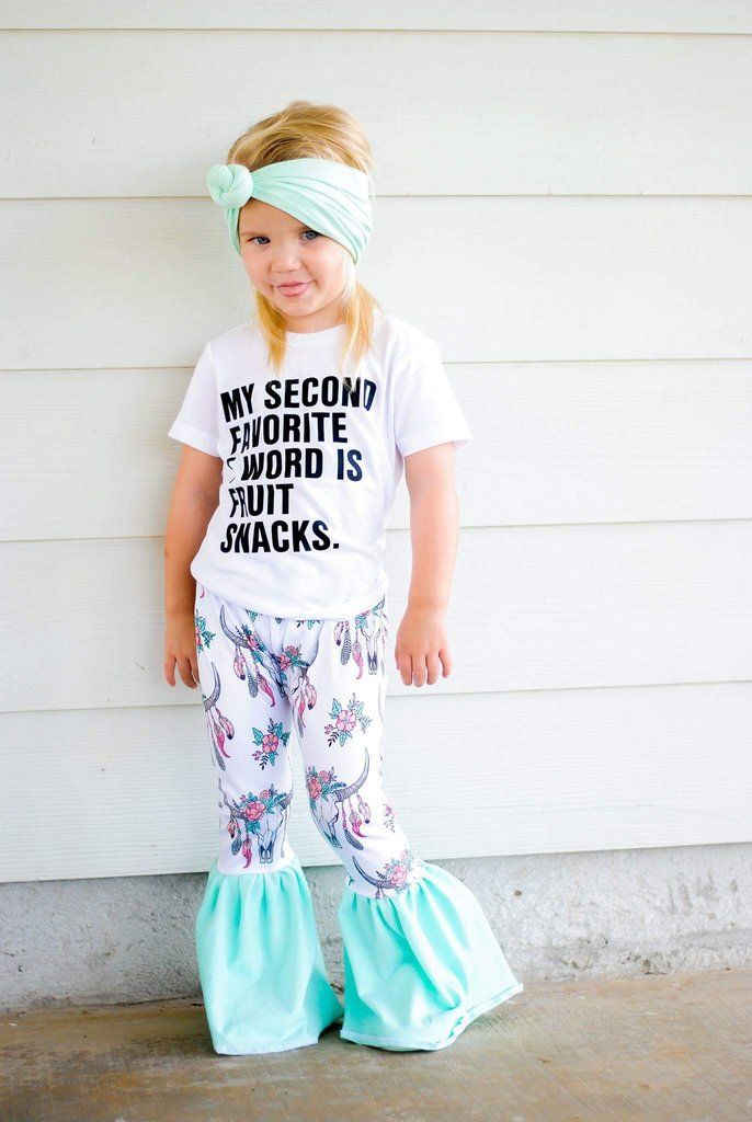 Girl Spring Outfit Girl Boutique Outfit Miss Sassy Outfit| Little Girl Outfit Cheetah Bell-Bottom Pants Toddler Girl Summer Outfit