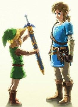 The Legend Of Zelda: Breath of the Wild - The torch being passed to a new generation