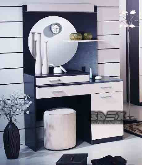 Latest Modern Dressing Table Designs For Small Bedroom Interiors 2018
