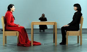 Don T Look Now The Artists Who Turn Their Backs On The World Marina Abramovic Performance Art Female Artists