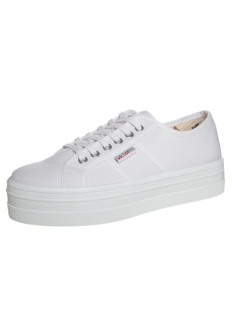 Victoria Shoes BASKET LONA PLATAFORMA - Baskets basses blanc B27B8z