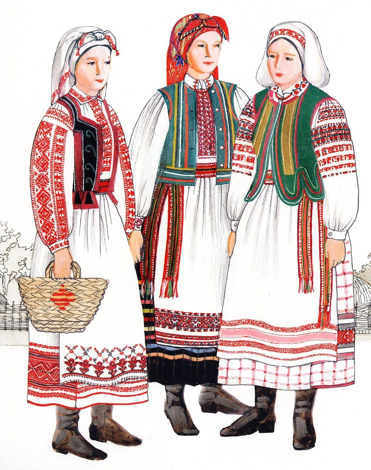 костюмы украинского народа картинки составьте