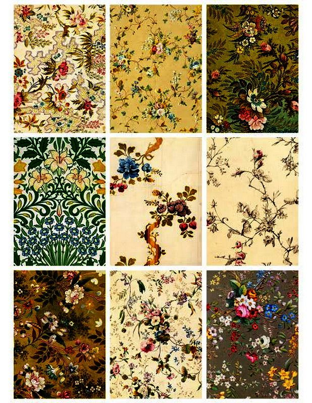 Pin By Vintage Wallpaper On Gomertical Victorian Wallpaper Victorian Dollhouse Wallpapers Vintage