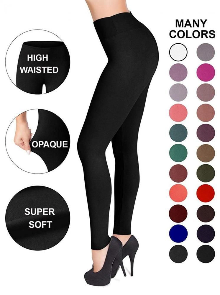 3206e2afb2256d Sejora Satina High Waisted Leggings - 25 Colors - Super Soft Full Length...  #fashion #clothing #shoes #accessories #womensclothing #leggings (ebay link)